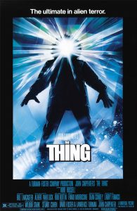 The Thing (1982) - movie poster analysis